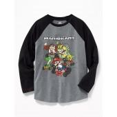 Mario Kart&#153 Graphic Raglan Tee for Boys