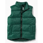 Frost-Free Puffer Vest for Boys
