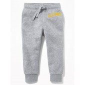 Logo-Graphic Joggers for Toddler Boys