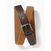 Stretch-Canvas Belt for Men
