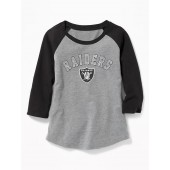 NFL&#174 Team-Graphic 3/4-Sleeve Tee for Girls