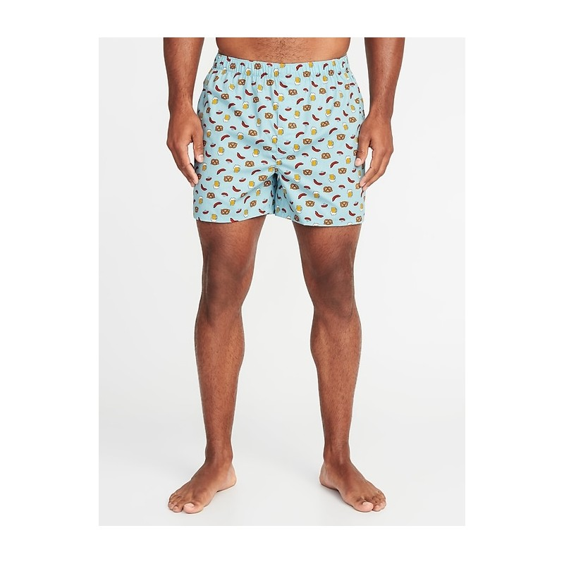 Soft-Washed Printed Boxers for Men