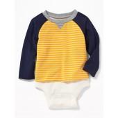 2-in-1 Raglan Bodysuit for Baby
