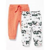 2-Pack Rib-Knit Leggings for Baby