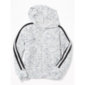 Relaxed Plush-Knit Hoodie for Girls