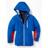 Color-Blocked 3-in-1 Snow Jacket for Boys