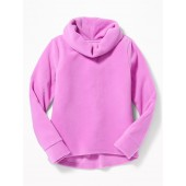 Micro Performance Fleece Cowl-Neck Pullover for Girls