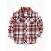 Plaid Pocket Shirt for Baby