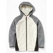 Go-Dry Color-Blocked Zip Hoodie for Boys