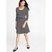 Maternity Double-Layer Nursing Dress