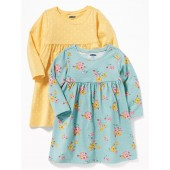 Jersey Babydoll Dress 2-Pack for Baby