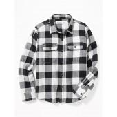 Built-In Flex Flannel Pocket Shirt for Boys