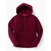Sherpa Zip Hoodie for Girls