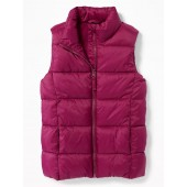 Frost-Free Puffer Vest for Girls