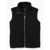 Sherpa Zip-Front Vest for Girls