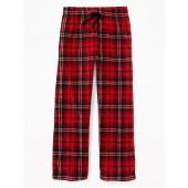 Patterned Micro Performance Fleece Sleep Pants for Boys