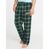 NFL&#174 Team-Graphic Flannel Sleep Pants for Men