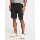 Slim Go-Dry Performance Khaki Shorts for Men - 10 inch inseam