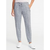 Go-Dry Sweater-Knit Zip-Pocket Joggers for Women