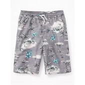 Printed Swim Trunks for Boys