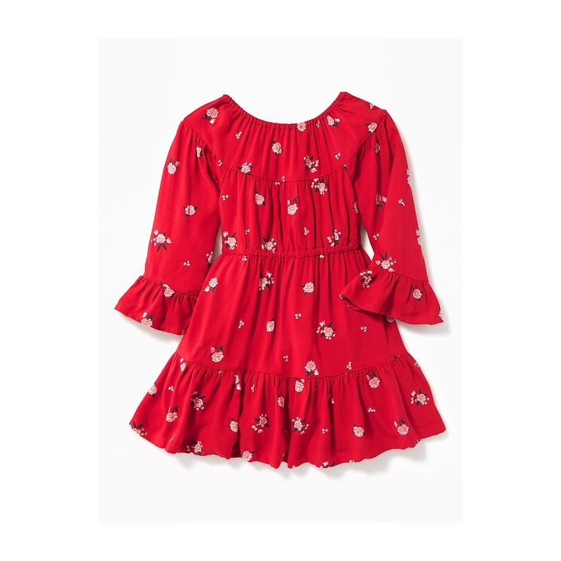 Tiered Swing Dress for Toddler Girls
