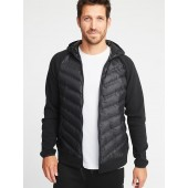 Go-Warm Quilted Fusion Hooded Jacket for Men