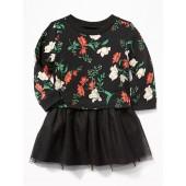 Sweatshirt Tutu Dress for Baby