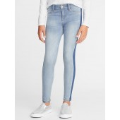 Ballerina Side-Stripe Jeggings for Girls