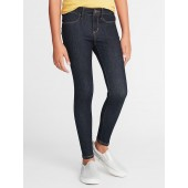 Ballerina Built-In Warm Dark-Wash Jeggings for Girls