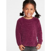 Chenille Sweater for Toddler Girls