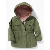 Hooded Utility Parka for Baby