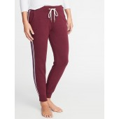 Relaxed Side-Stripe Joggers for Women