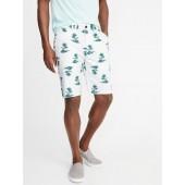 Slim Ultimate Built-In Flex Khaki Shorts for Men - 10 inch inseam