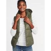 Frost-Free Hooded Nylon Vest for Women