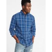 Regular-Fit Built-In Flex Everyday Shirt for Men