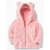 Micro Performance Fleece Bear-Critter Jacket for Baby