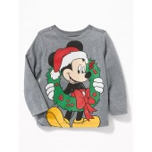 Disney&#169 Mickey Mouse Christmas Tee for Toddler Boys