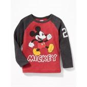 Disney&#169 Mickey Mouse Raglan-Sleeve Tee for Toddler Boys