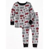 Firetruck Sleep Set for Toddler & Baby