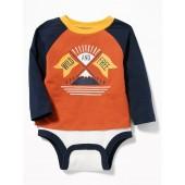 2-in-1 Raglan Bodysuit & Top for Baby