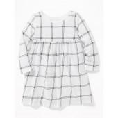 Empire-Waist Jersey Dress for Baby