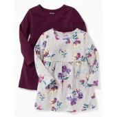 Babydoll Dress 2-Pack for Toddler Girls
