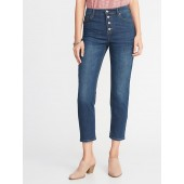 High-Rise The Power Jean a.k.a. The Perfect Straight Ankle for Women