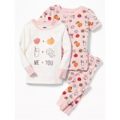 3-Piece Graphic Sleep Set for Toddler & Baby