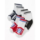 3-Pack Crew Socks for Baby