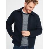 Soft-Brushed Zip Jacket for Men