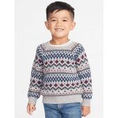 Fair Isle Sweater for Toddler Boys