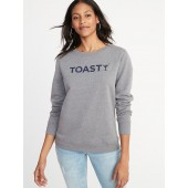 Relaxed Graphic Vintage Sweatshirt for Women