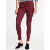 Mid-Rise Sateen Rockstar Jeans for Women