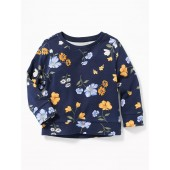 Relaxed Graphic Sweatshirt for Toddler Girls